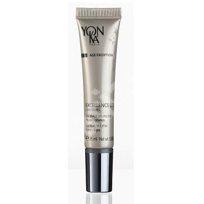 Crema antirid impotriva cearcanelor pentru ochi si conturul buzelor Exellance Code, 15 ml, YonKa