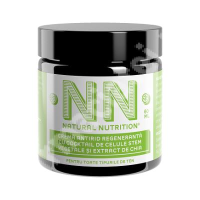 Cremă antirid intens regeneranță cu cocktail de celule stem vegetale și extract de semințe de chia, 60 ml, NN Cosmetics