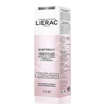 Crema antirid pentru conturul ochilor Dioptiride, 15 ml, Lierac Paris