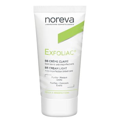 Crema BB anti-imperfectiuni Exfoliac Clair, 30 ml, Noreva