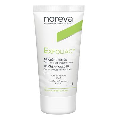 Crema BB anti-imperfectiuni Exfoliac Dore, 30 ml, Noreva