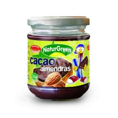 Crema Bio de migdale si cacao,200 g, Naturgreen