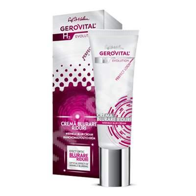 Cremă blurare riduri Gerovital H3 Evolution Perfect Look, 25 ml, Farmec
