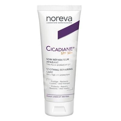Crema calmanta si reparatoare SPF 50+ Cicadiane Protect, 40 ml, Noreva