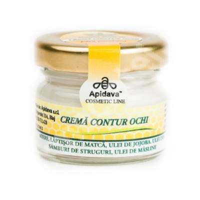 Crema contur ochi, 30 ml, Apidava