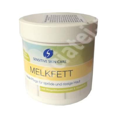 Crema cu extract de galbenele si vitamina E Melkfett, 250 ml, Schmees