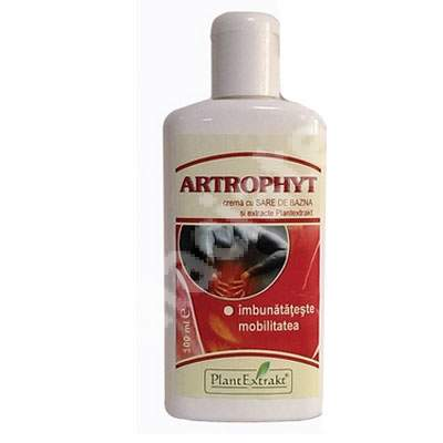 Crema cu sare de Bazna si extracte Artrophyt, 100 ml, Plant Extrakt