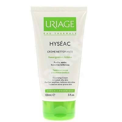 Cremă de curățare pentru tenul gras Hyseac, 150 ml, Uriage
