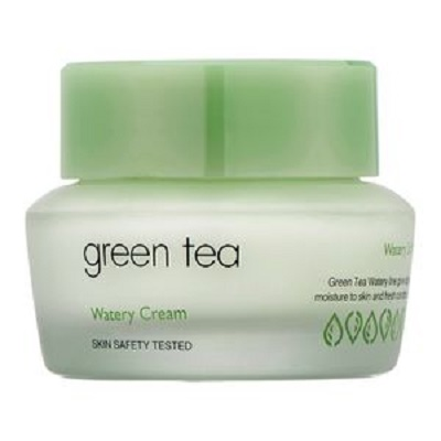 Cremă de față Green Tea Watery Cream, 50 ml, Its Skin