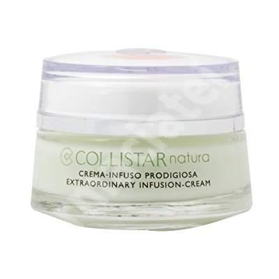 Crema de fata pentru toate tipurile de ten Extraordinary Infusion Natura K21502, 50 ml, Collistar
