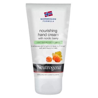 Cremă de mâini hidratanta cu Nordic Berry, 75 ml, Neutrogena