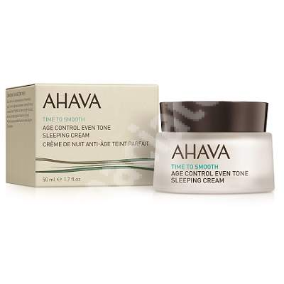 Crema de noapte antirid Time to Smooth Age Control 82116066, 50 ml, Ahava