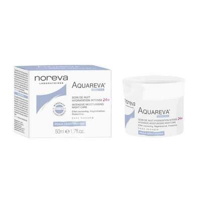 Crema de noapte hidratare intensa Aquareva, 50 ml, Noreva