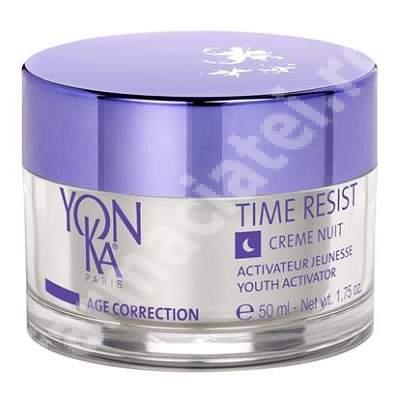 Crema de noapte Time Resist, 50 ml, YonKa