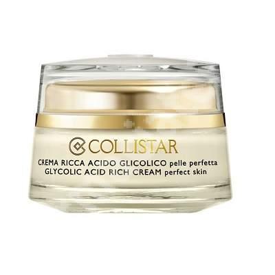 Crema densa pentru piele perfecta Acid Glicolic K21820, 50 ml, Collistar