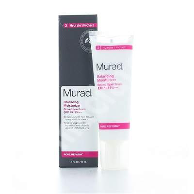 Crema echilibranta cu SPF 15, 50 ml Balancing Moisturizer, Murad