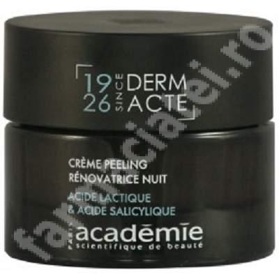 Crema exfolianta de noapte Restorative Derm Acte AC8010, 50 ml, Academie