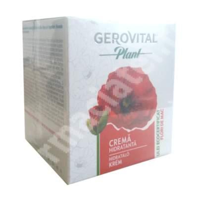 Crema hidratanta cu ulei de flori de mac, 50 ml, Farmec