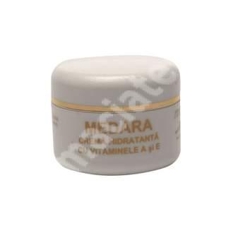 Crema hidratanta cu Vitaminele A si E Medara, 40 g, Mebra