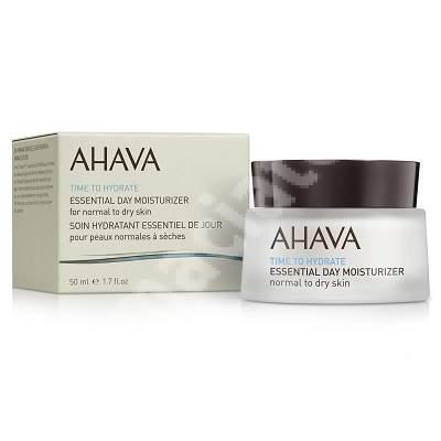 Crema hidratanta de zi pentru ten normal sau uscat Time to Hydrate Essential 80015066, 50 ml, Ahava