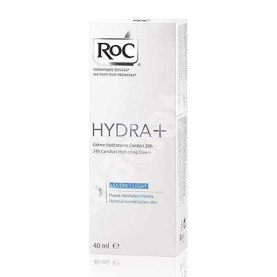 Crema hidratanta reconfortanta Hydra+, 40 ml, Roc