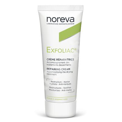 Crema hidratanta reparatoare Exfoliac, 40 ml, Noreva