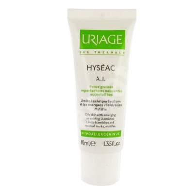 Cremă împotriva pielii grase Hyseac A.I., 40 ml, Uriage