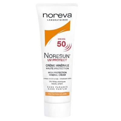 Crema minerala protectie solara Noresun UV Protect SPF 50, 40 ml, Noreva