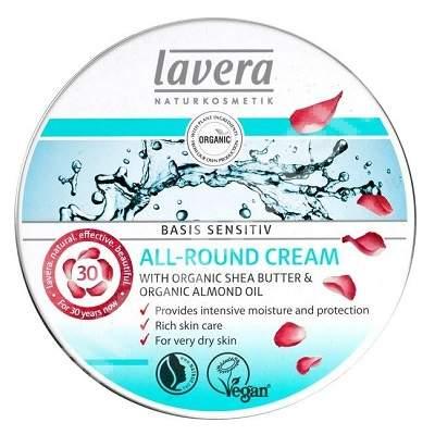 Crema multifunctionala cu unt de shea organic, 150 ml, Lavera