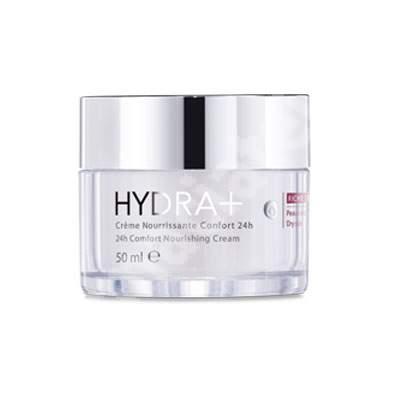 Crema nutritiva pentru ten uscat confort 24H Hydra+, 50 ml, Roc
