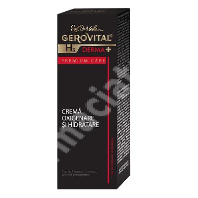 Cremă oxigenare și hidratare Gerovital H3 Derma+ Premium Care, 30 ml, Farmec