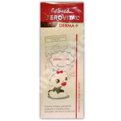 Cremă pentru copii Gerovital H3 Derma+, 50ml, Farmec