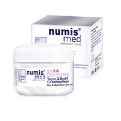 Crema pentru fata zi si noapte pH 5.5 Sensitive, 50 ml, NumisMed