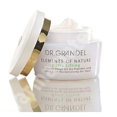 Crema pentru fermitate Nutra Lifting Elements of Nature (40340), 50 ml, Dr. Grandel