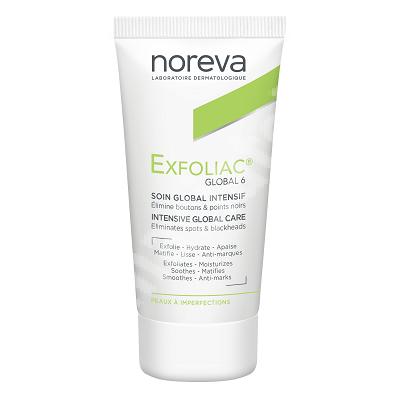 Crema pentru ingrijire intensiva globala Exfoliac Global 6, 30 ml, Noreva