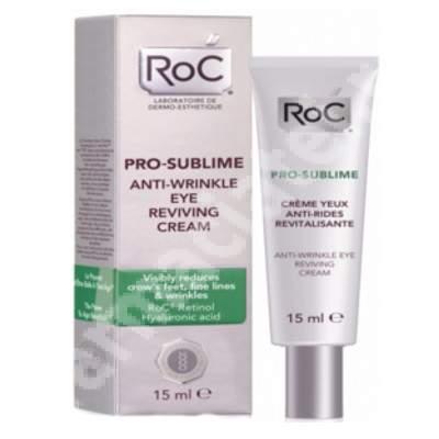 Crema pentru ochi antirid revitalizanta Pro-Sublime, 15 ml, Roc