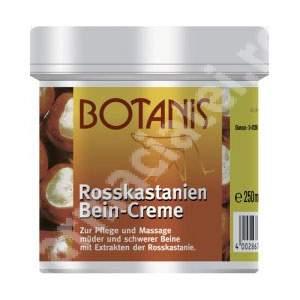 Crema pentru picioare cu extract de castane Botanis, 250 ml, Glancos