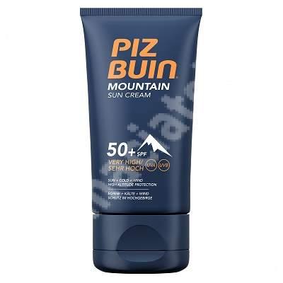 Cremă pentru protecție solară SPF 50+ Mountain, 50 ml, Piz Buin