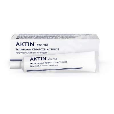 Cremă pentru tratamentul keratozei actinice și a câmpului de cancerizare Aktin, 30 ml, Solartium