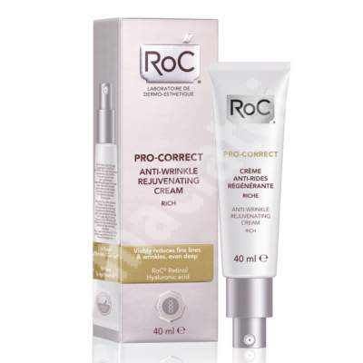 Crema regeneranta antirid Pro-Correct, 40 ml, Roc
