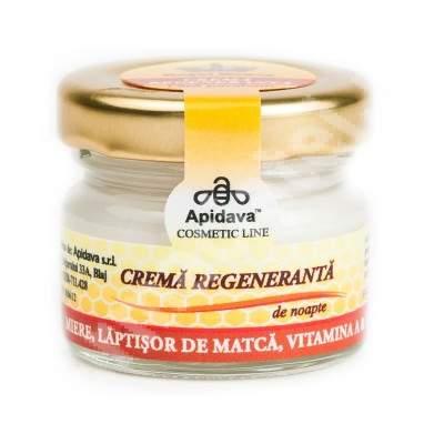 Crema regeneranta de noapte, 30 ml, Apidava