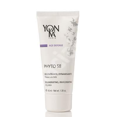 Crema regeneratoare cu rozmarin pentru ten uscat Phyto 58, 40 ml, YonKa