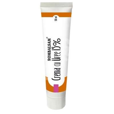 Cremă Rombalsam cu Uree 15%, 50 ml, Omega Pharma