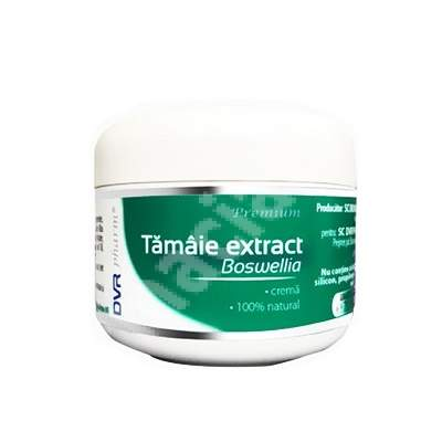 Cremă Tămâie extract Boswellia , 75 ml, DVR Pharm