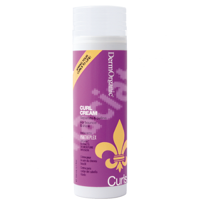 Crema texturizanta pentru par cret, 90 ml, Dermorganic