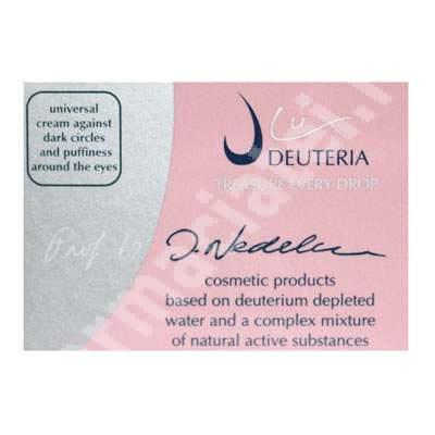 Crema universala pentru ochi anticearcane si antipungi, 30 ml, Deuteria Cosmetics
