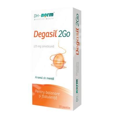 Degasil 2Go, 20 pastile, Walmark