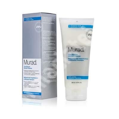Demachiant tratament pentru petele provocate de acnee Time Release Blemish, 200 ml, Murad