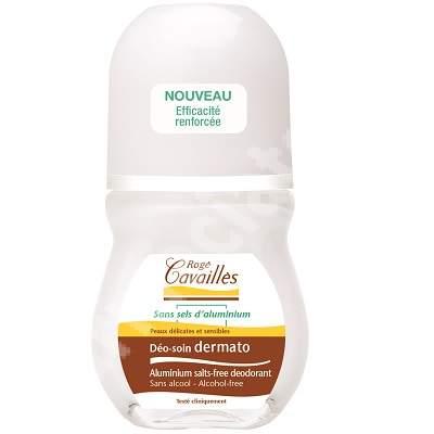 Deo roll-on dermatologic pentru piele delicata si sensibila, 50 ml, Roge Cavailles