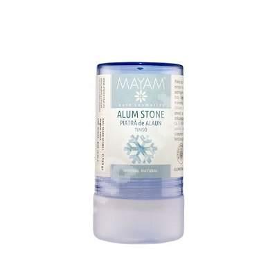 Deodorant mineral natural piatra de alaun (X - 4159), 120 g, Mayam